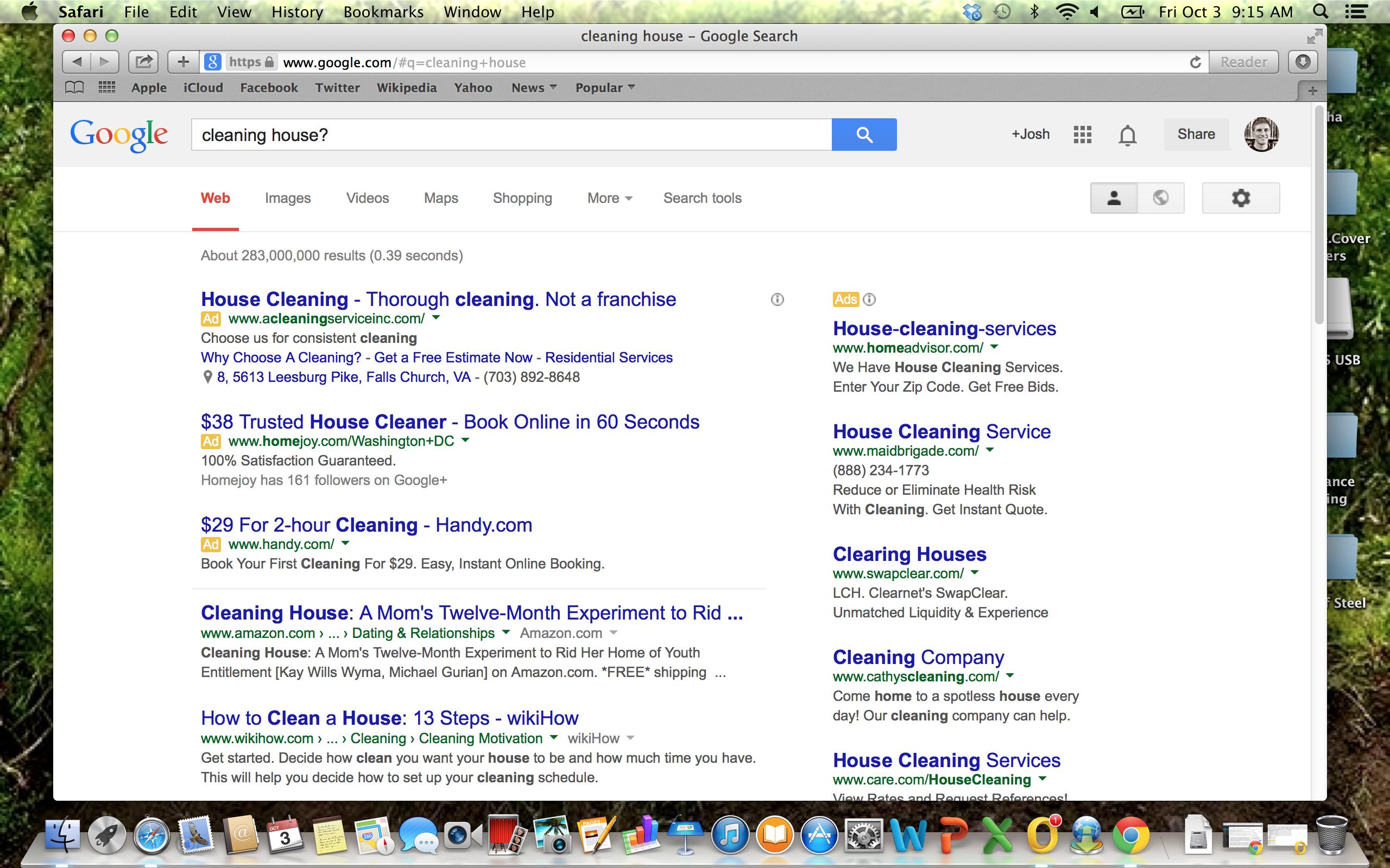 2014 j c l faltot cleaning house